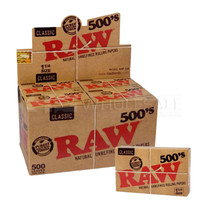 RAW - Classic Rolling Papers 500's 1-1/4 Box