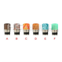 Drip Tips - Assorted Stabilized Wood Drip Tip Style 1 #29