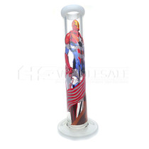 "12"" Captain Iron Printed Straight Tube (MSRP $70.00)"