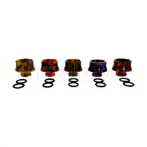 510 Resin Drip Tip For TFV8 Baby Beast Assorted Colors Pack of 5(MSRP $5.00ea)