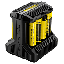 Nitecore I8 Intellicharger - 8 Batteries Slot Charger (MSRP $50.00)