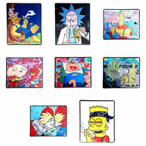 Cartoon Rubber Mats - All Designs