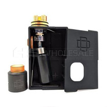 Augvape Druga Black Unregulated Squonk Starter Kit with 22MM Druga RDA (MSRP $55.00)