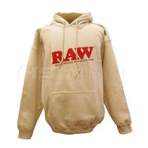 Raw Mens Tan Hoodie (MSRP $40.00)