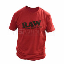 Raw Life Red Logo Shirt (MSRP $25.00)
