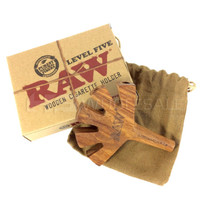 Raw Level Five Cigarette Holder Wooden (MSRP $25.00)
