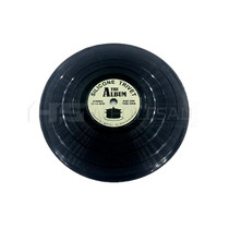 Silicone Mat Record Disc Style 150mm x 4mm