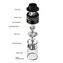 Aspire Revvo 3.6ML Sub Ohm Tank (MSRP $40.00)