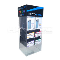 Nicostic Pod System Display with 10 Kits and 24 Pods
