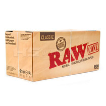 Raw Pre-Rolled Cone 800 Pack (MSRP $1.00ea)