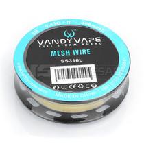 Vandy Vape Mesh Wire Spools - 5Ft (MSRP $15.00)