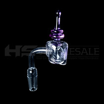 MOB Quartz 14MM Banger and Cap Set (MSRP $30.00)