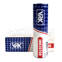 VRK 20700 30A 3000mAh with 4 Leg Positive Post (MSRP $18.00)