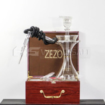 Zezo Clear Glass Hookah With LED Light (MSRP $119.99)