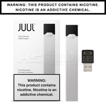 JUUL - Basic Kit - Silver (MSRP $34.99)
