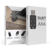 Duet Dual Charger For JUUL (MSRP $15.00)