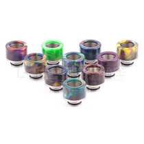 510 Style SS Epoxy Resin Drip Tip - Assorted Pack Of 5 (MSRP $5.00ea)
