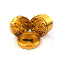 62mm 4 Part Anodized Heavy Grinder (MSRP $20.00)