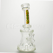 "8"" Cheech Glass Rimmed Rig (MSRP $120.00)"