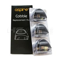 Aspire Cobble AIO Replacement Pods 1.8ML - Pack Of 3 (MSRP $15.00)