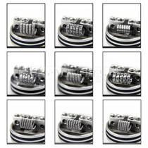 Kanthal A1 Prebuilt Coils Kit 9 Styles 80 Piece By AKATTAK *Drop Ship* (MSRP $23.99)