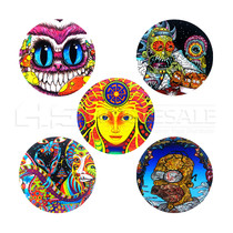 "6"" Round Anti Slip Mat - Multiple Designs (MSRP $8.00)"