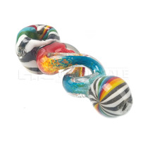 "5"" Assorted Frit Infinity Pipe (MSRP $44.00)"