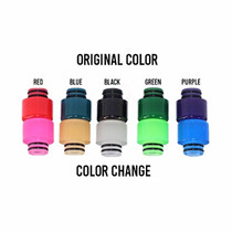 Color Changing Resin Drip Tips - Assorted Pack of 5 (MSRP $10.00ea)