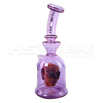 """Cheech Glass - 10"""" Purple Monster Rig Water Pipe (MSRP $175.00)"""