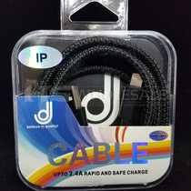 Lightning Cable 2.4A 2M Pack Of 10 By DJ *Drop Ship* (MSRP $4.99 Each)