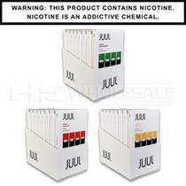 JUUL Pods 5% 4-Pack Flavored   Display of 8 (MSRP $19.99ea)