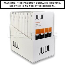 Mango JUUL Pods 5% 4-Pack   Display of 8