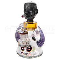 """Cheech Glass - 7"""" Monster Head Rig with Showerhead Perc (MSRP $200.00)"""