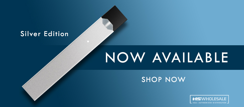 JUUL Silver Available Now