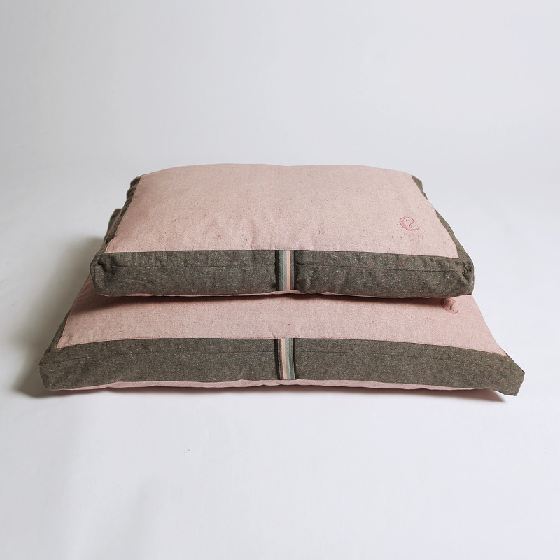 Snooze Rose - Limited Edition Dog Cushion_Stack_www.hugoandotto.com