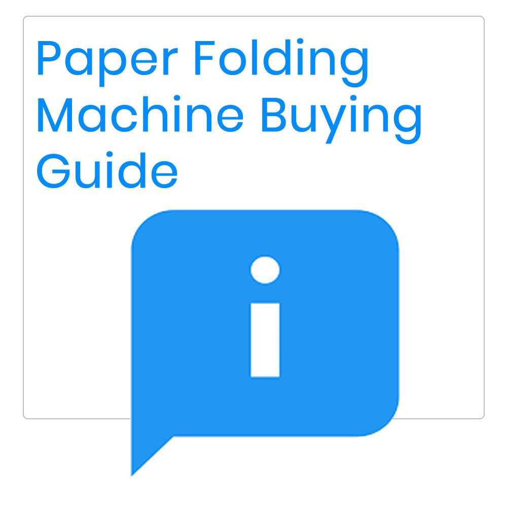 Paper Folding Machine Guide