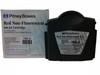 Original RED Pitney Bowes DM200 - DM300 766-E Franking Ink Cartridge