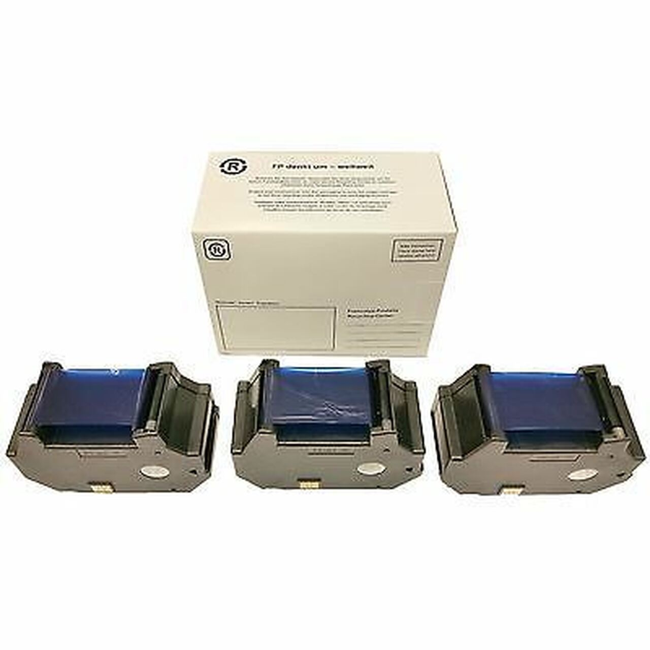 Original Francotyp Postalia FP OptiMail 30 Franking Ink Cartridge - 3 Pack