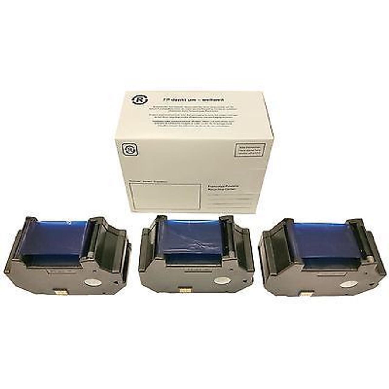 Original Francotyp Postalia FP OptiMail 30 Ink Cartridge - 3 Pack
