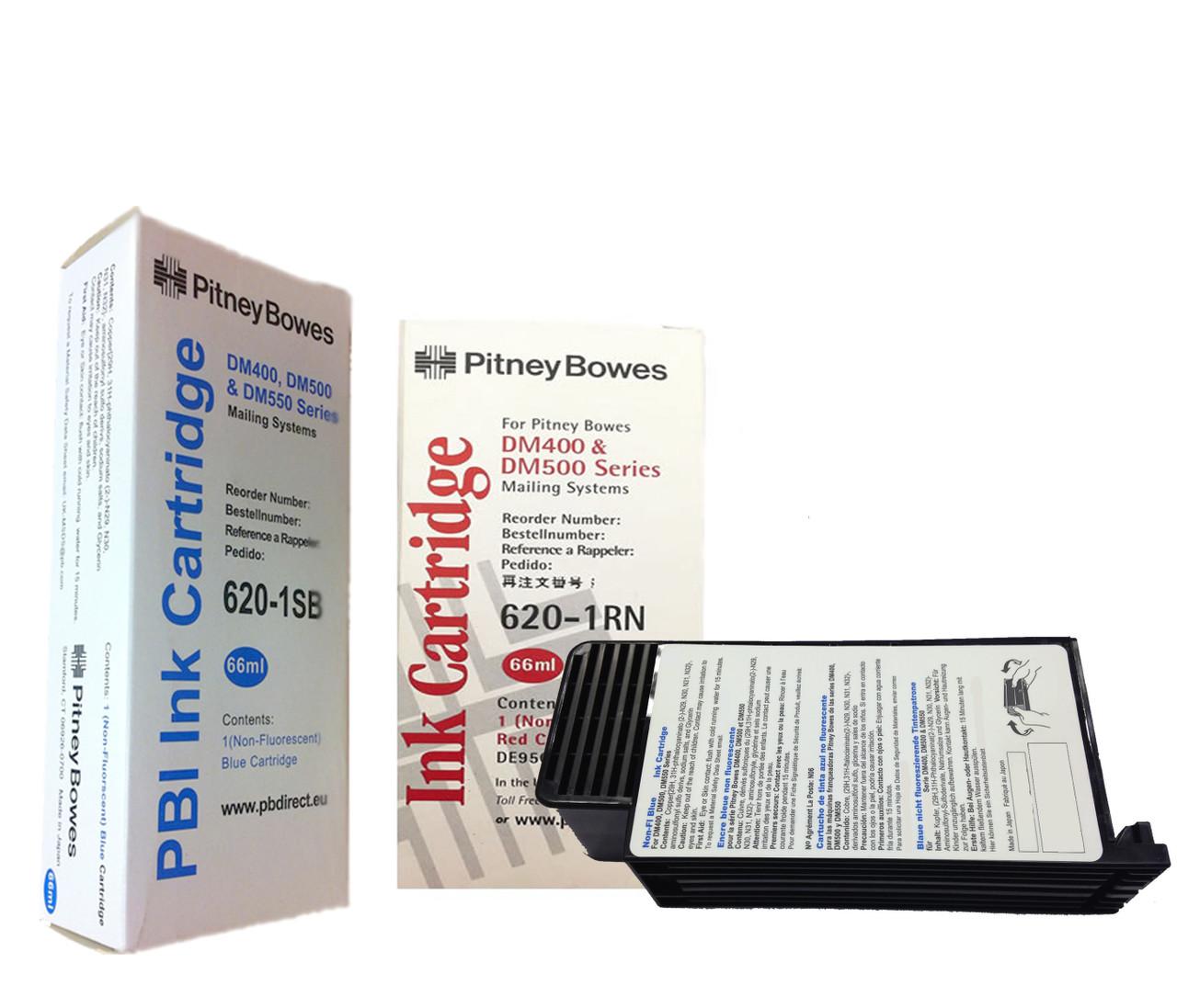 Original Pitney Bowes DM400, DM500 & DM550 Franking Ink Cartridge