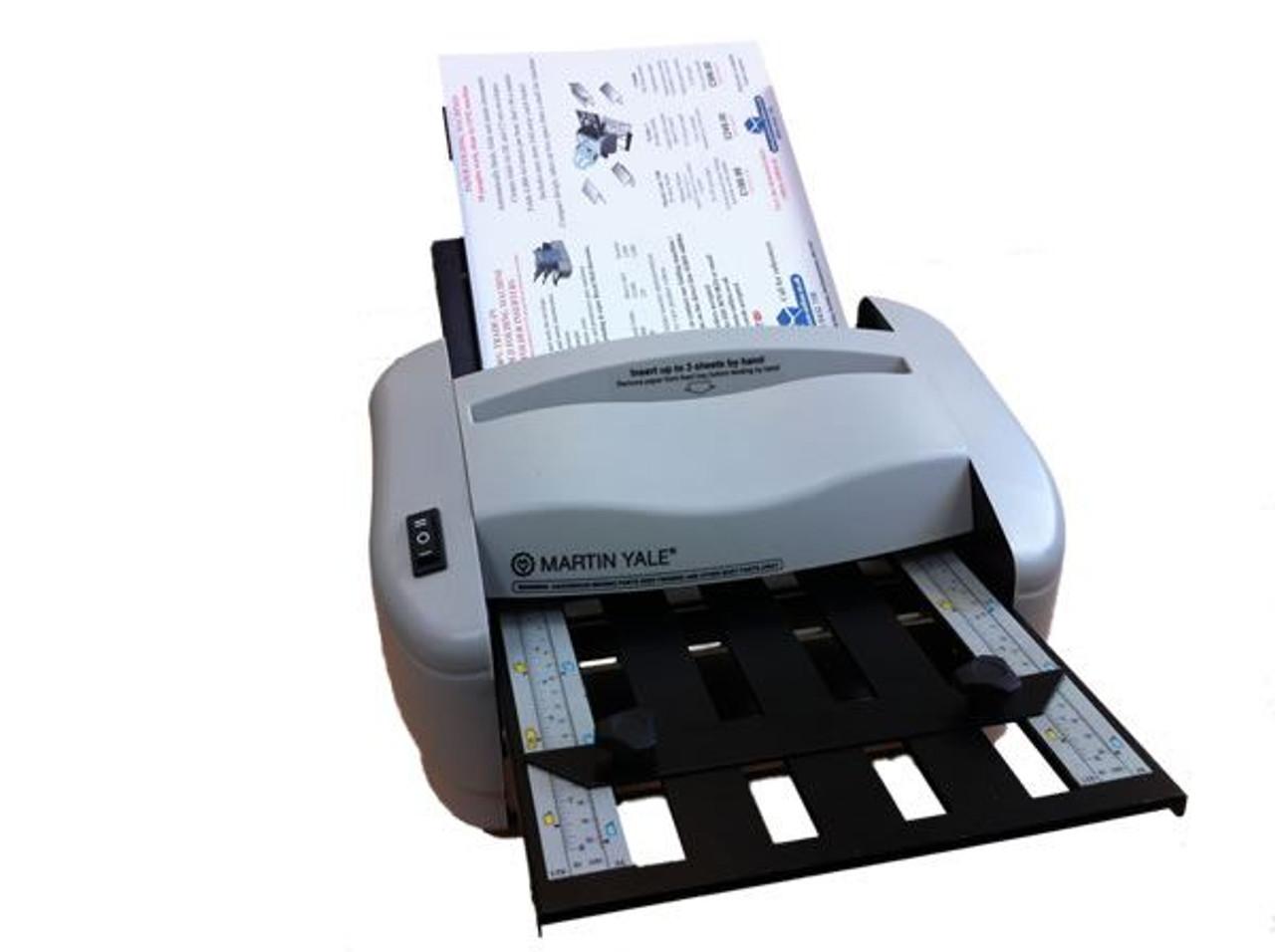 Martin Yale 7200 - A4 Paper Folding Machine with Catch Basket
