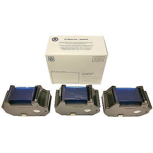 Original Francotyp Postalia FP OptiMail 30 Franking Ink Cartridge - 3 Pack