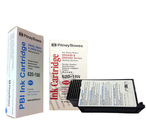 Original Pitney Bowes DM400, DM500 & DM550 Franking Ink Cartridge