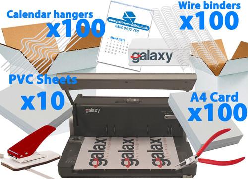 Galaxy G150 Calendar Making Kit PRO - Start Up Pack