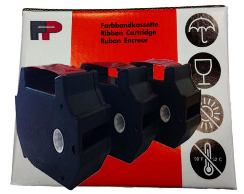 Original RED Francotyp Postalia FP T1000 Ink Cartridge Ribbons - 3 Pack