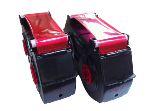 Compatible Neopost SM22 / SM26 Franking Machine Ink Cassette Twin Pack - RED