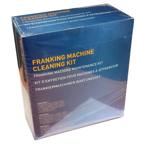 Pitney Bowes Franking Machine Cleaning Kit - Spray Duster, Cleaning Foam, Wipes