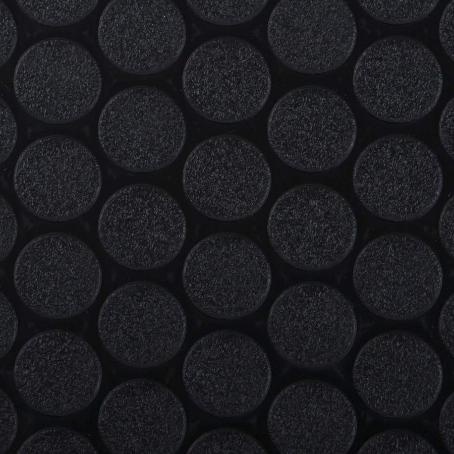 G Floor Small Coin in Black