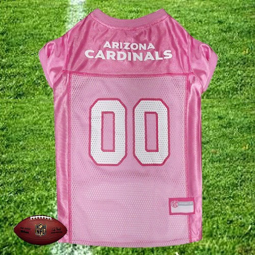 ea089c6d5bb6 ... NFL Arizona Cardinals Dog Jersey - Pink