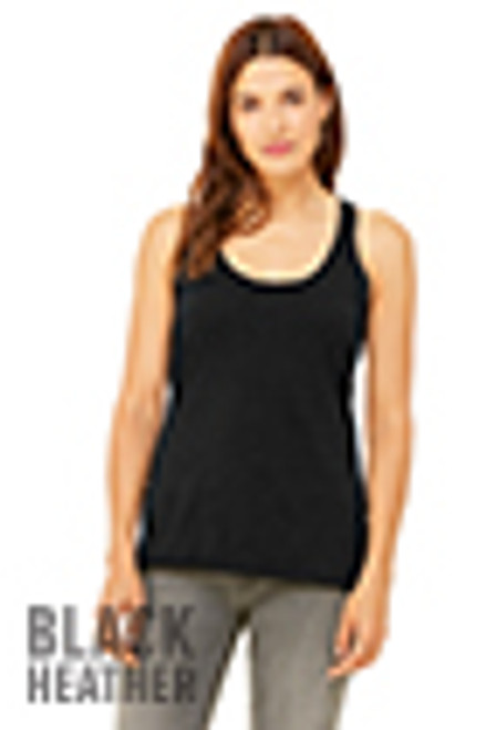 Ladies Fitted racerback Tank